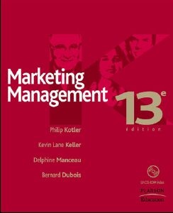 Marketing management - Livre (Philip Kotler, Bernard Dubois, Delphine Manceau)